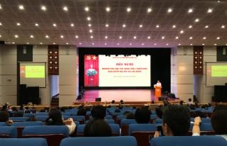 Viện Nghiên cứu Thiết kế Trường học tham gia học tập, quán triệt Nghị quyết Đại hội XIII của Đảng.
