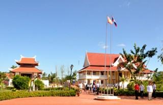 Dự án: Khu tưởng niệm Chủ tịch Hồ Chí Minh tại Khăm Muộn - CHDCND Lào