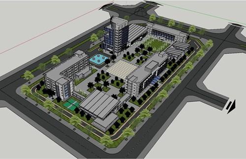 Giới thiệu Phương án Quy hoạch - Kiến trúc trường Chính trị tỉnh Phú Yên