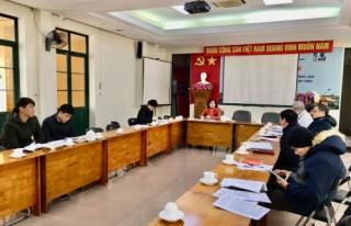 Viện Nghiên cứu Thiết kế Trường học họp tổng kết, đánh giá xếp loại tổ chức Đảng, đảng viên năm 2020
