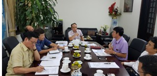Viện NCTK Trường học họp với Cục Cơ sở vật chất về việc phối hợp triển khai công tác Nghiên cứu Khoa học