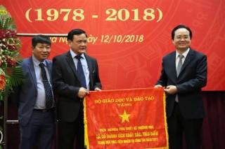 Viện NCTK Trường học tổ chức Lễ kỷ niệm 40 năm ngày thành lập (1978-2018)