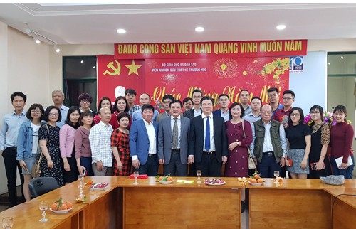 Viện NCTK Trường học tổ chức Gặp mặt đầu xuân Kỷ Hợi 2019