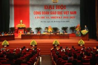 Đại hội Công đoàn Giáo dục Việt Nam lần thứ XV, Nhiệm kỳ 2018-2023