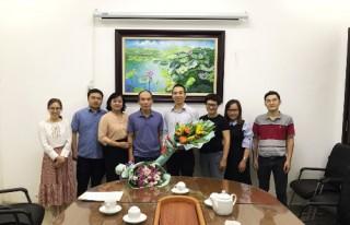 Công bố và trao Quyết định bổ nhiệm Phó Giám đốc Trung tâm Tư vấn Thiết kế 1