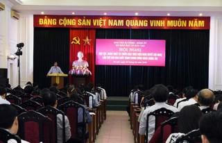 Bộ GD&ĐT tổ chức quán triệt, triển khai Nghị quyết Trung ương 6