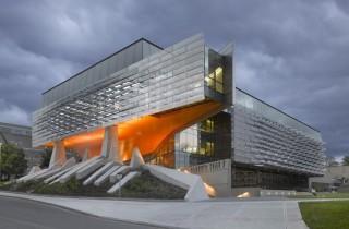 Công trình Hội trường Bill & Melinda Gates thuộc trường Đại học Cornell